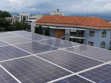 Hệ thống điện mặt trời hòa lưới 5kW cho hộ dân ở Ninh Thuận